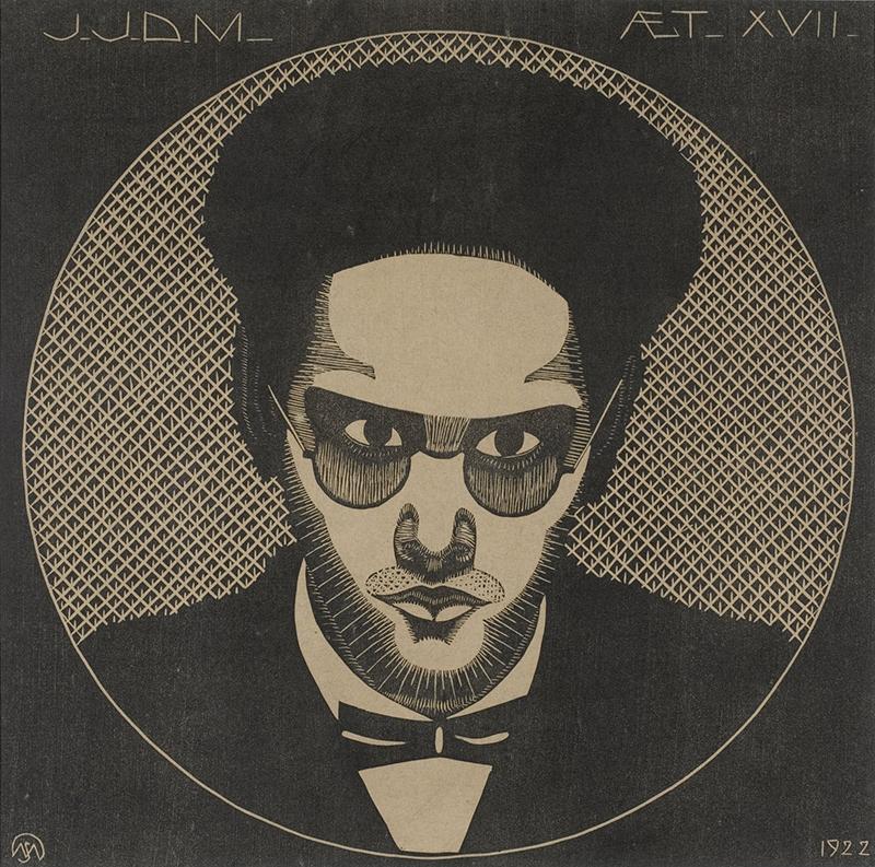 《ヤープ・イェスルン・デ・メスキータの肖像》1922年、個人蔵 Photo: J&M Zweerts
